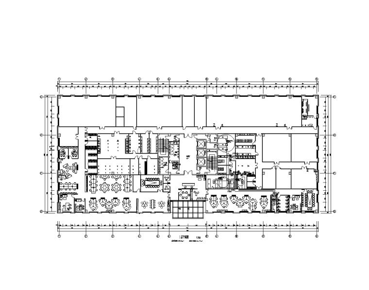 上海科研楼弱电电气施工图
