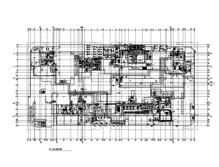 厨房装修改造工程电气施工图