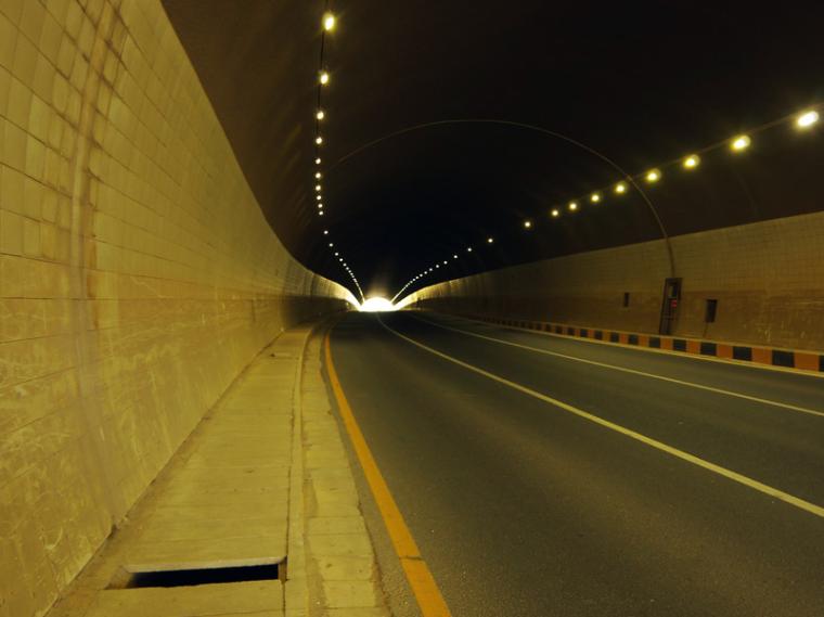 [重庆]穿山隧道交通工程设计图纸说明