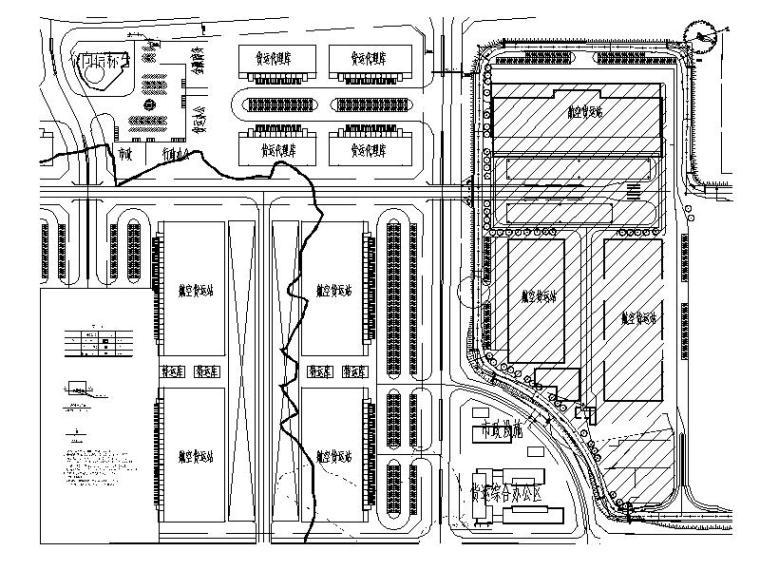 室外燃气管道平面图