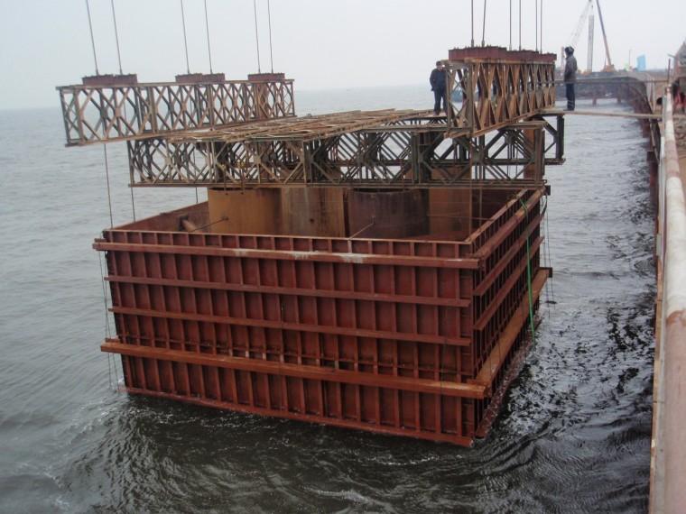 桥梁设计方案汇报材料资料下载-海湾大桥主要技术方案交流汇报材料