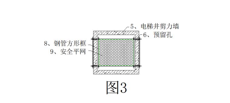 04 水平软防护安装平面示意图