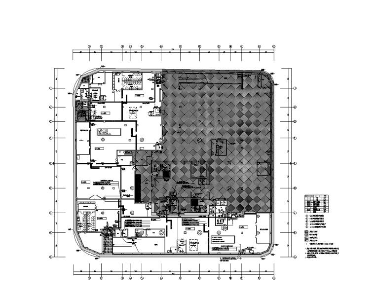 国际文化中心人防地下室电气图(招标要求)