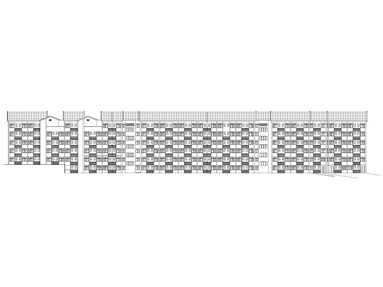 学生公寓可研报告资料下载-6层剪力墙结构学生公寓宿舍建筑施工图