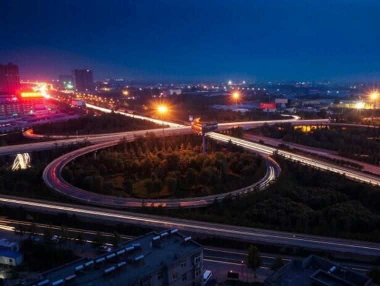 [重庆]高速复线连接道排水工程设计图