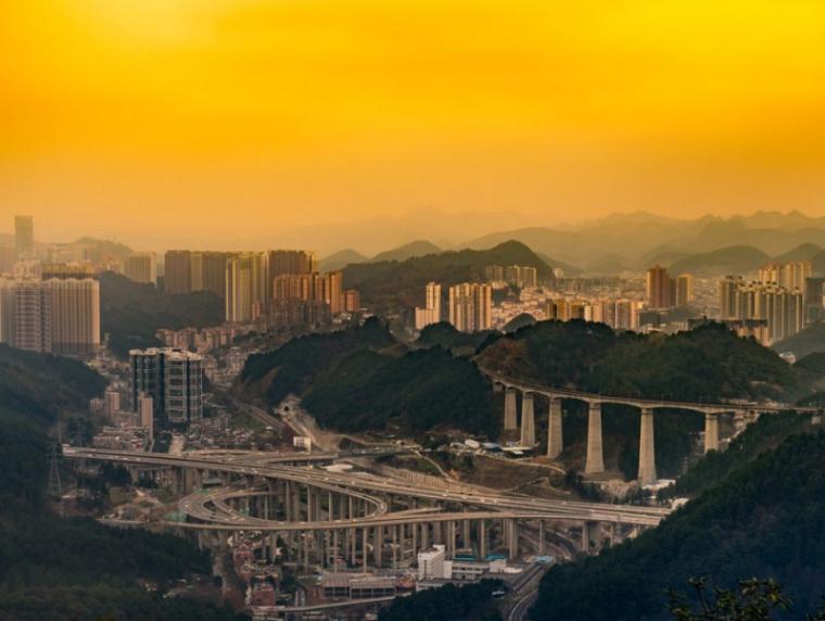 [重庆]高速复线连接道道路工程施工图设计