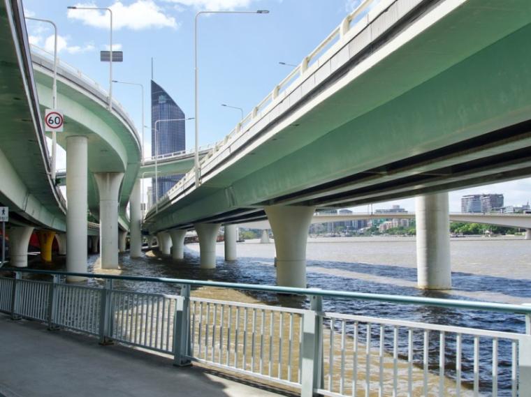 [重庆]高速复线连接道桥梁工程施工图设计