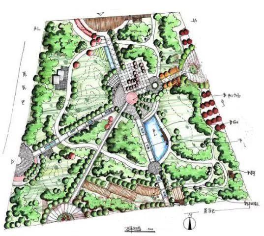 公园绿地中的道路设计_6