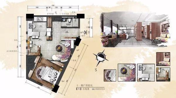 干货:入户门厅设计手法与套路_附家装图纸_6