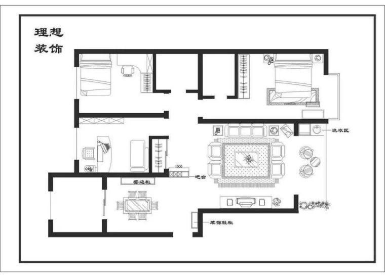 干货:入户门厅设计手法与套路_附家装图纸_27
