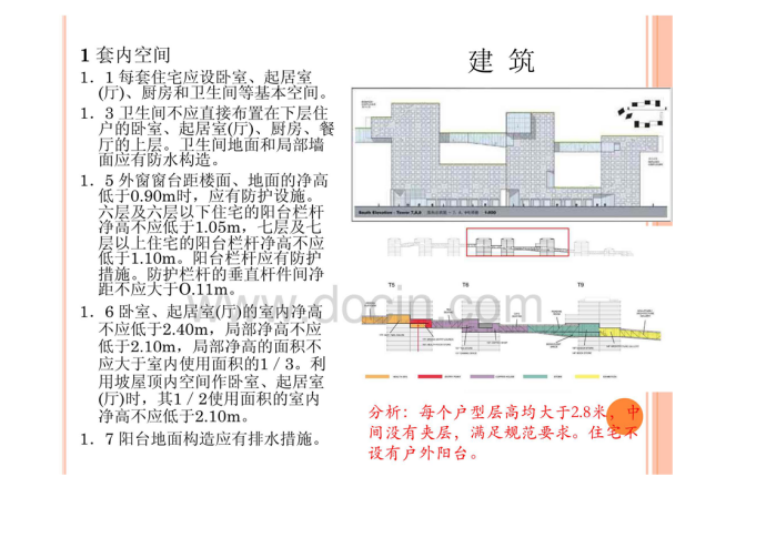 住宅建筑设计规范分析3
