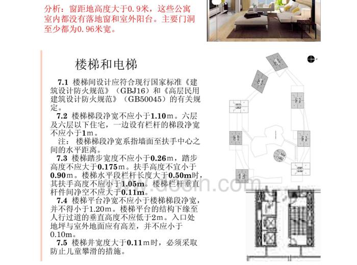 住宅建筑设计规范分析6
