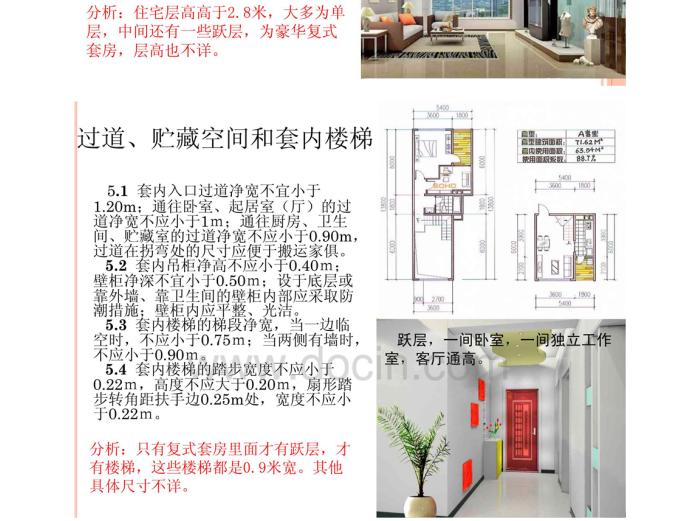 住宅建筑设计规范分析5