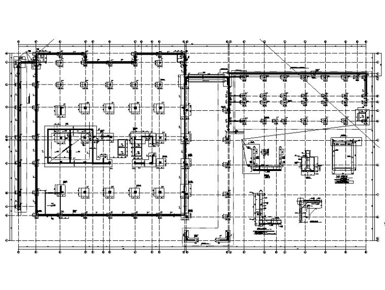 [四川]大学实验楼及配套用房结构施工图2019