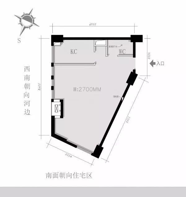 干货:入户门厅设计手法与套路_附家装图纸_3