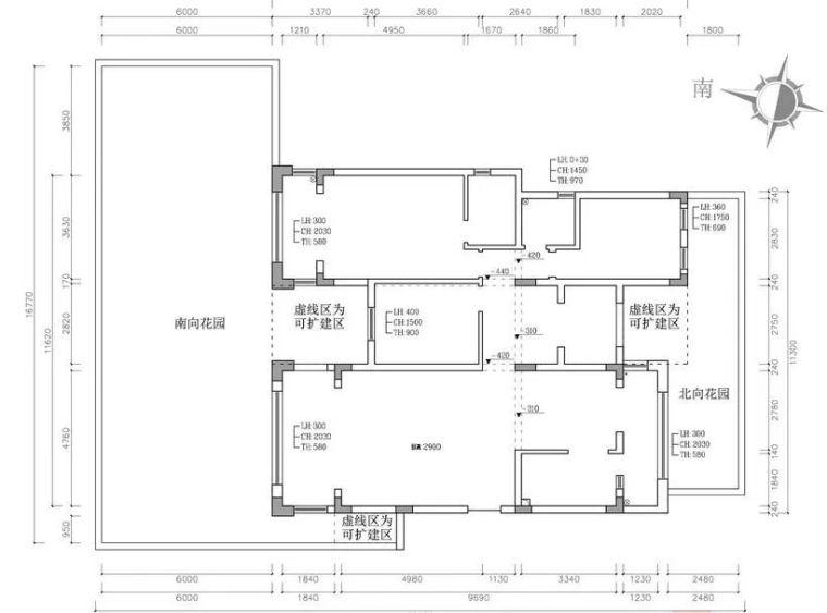 干货:入户门厅设计手法与套路_附家装图纸_13