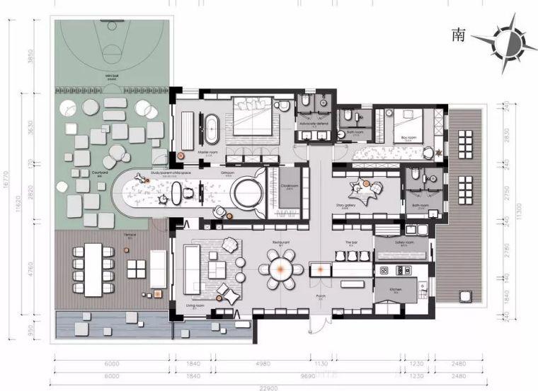 干货:入户门厅设计手法与套路_附家装图纸_14