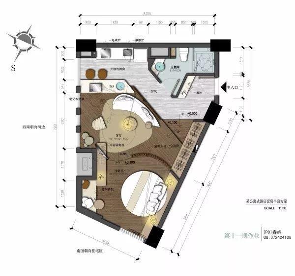 干货:入户门厅设计手法与套路_附家装图纸_5