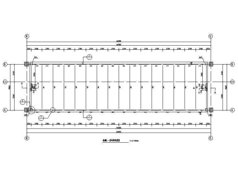连廊结构布置图