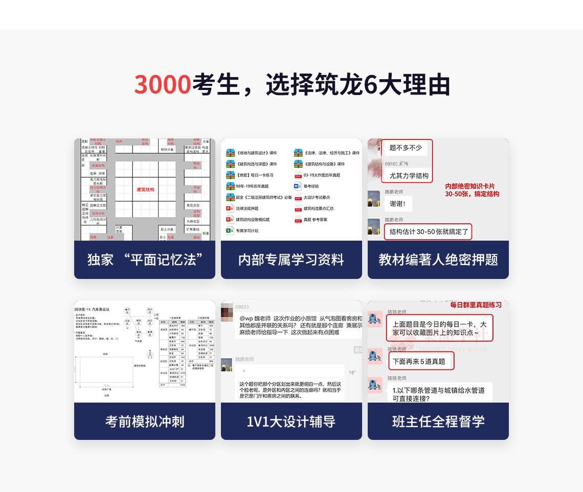 3000名二级注册建筑师考试,选择筑龙6大理由