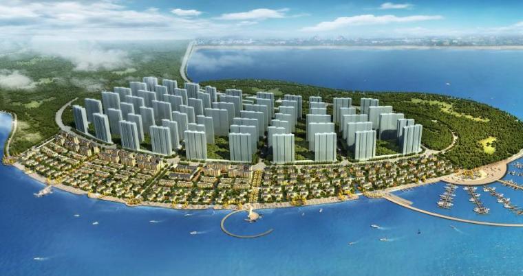 [山东]青岛滨海欧式别墅居住区景观设计方案