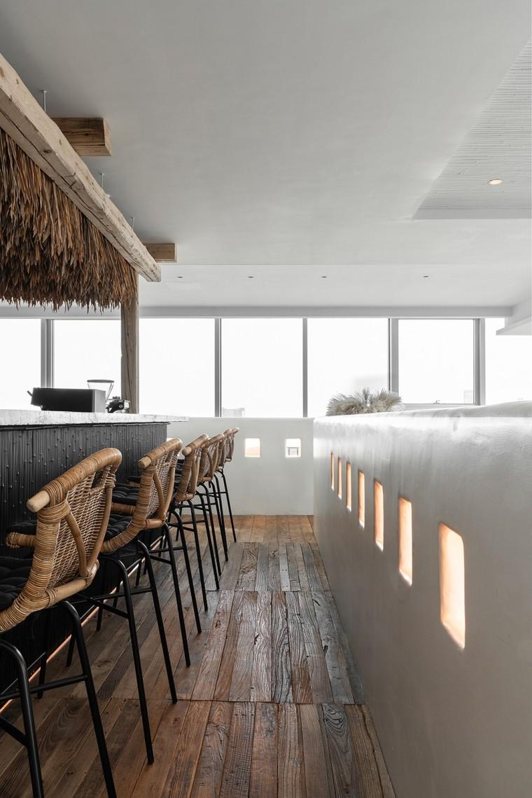 埂上设计丨取材生活,营造有仪式感的餐厅_4