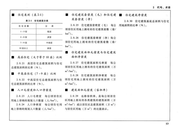 城市居住区规划设计规范图解资料下载2