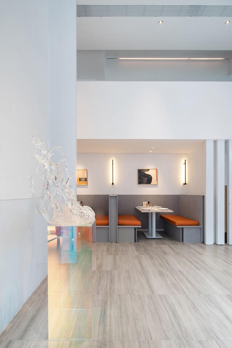 埂上设计丨取材生活,营造有仪式感的餐厅_20