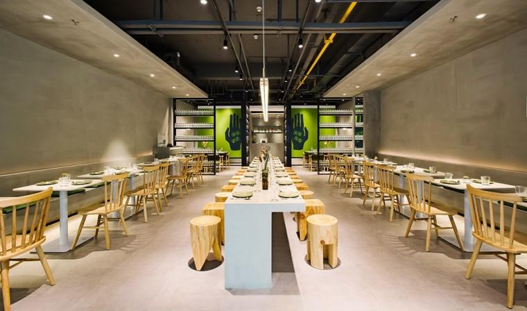 埂上设计丨取材生活,营造有仪式感的餐厅_36