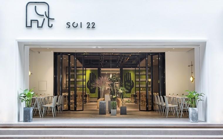 埂上设计丨取材生活,营造有仪式感的餐厅_34