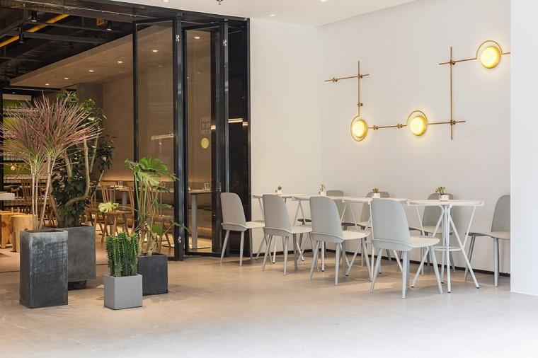 埂上设计丨取材生活,营造有仪式感的餐厅_35