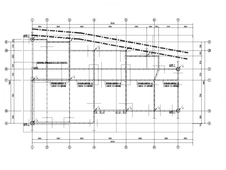 十套2019年电气精品图纸合集1.0-某中学图书楼电气施工图(2019含招标清单)-3接地平面图_副本