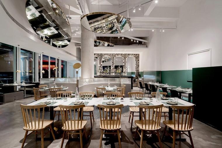 埂上设计丨取材生活,营造有仪式感的餐厅_42