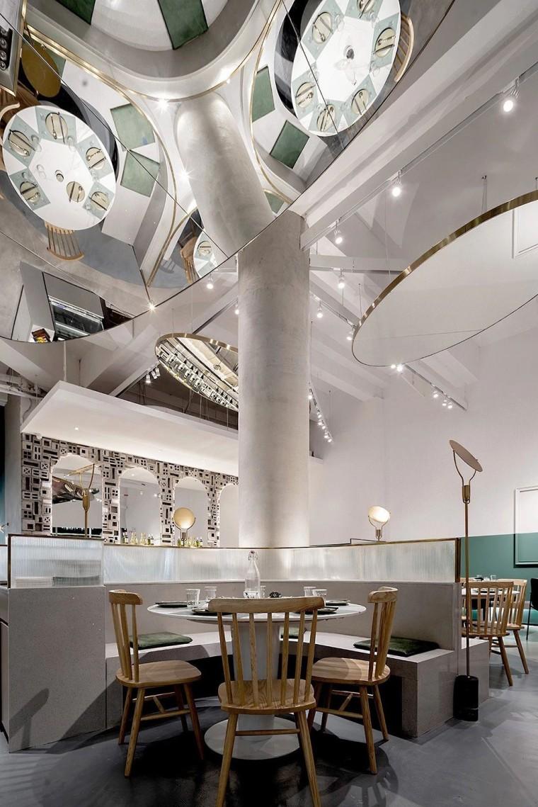 埂上设计丨取材生活,营造有仪式感的餐厅_43
