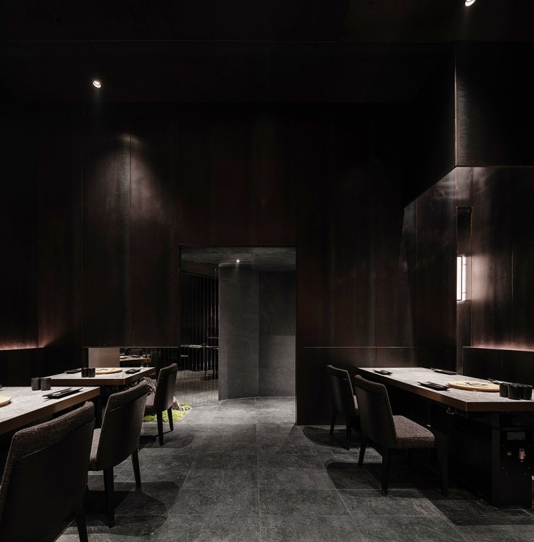 埂上设计丨取材生活,营造有仪式感的餐厅_47