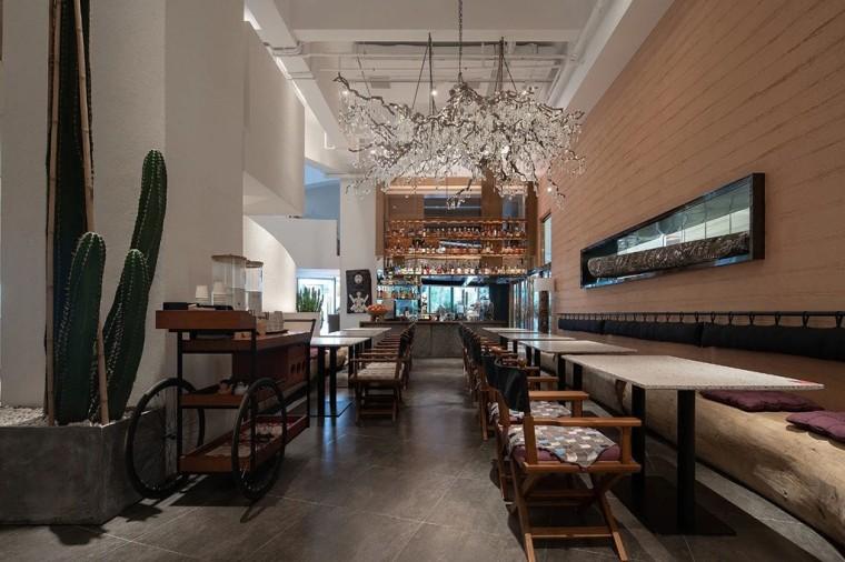 埂上设计丨取材生活,营造有仪式感的餐厅_58