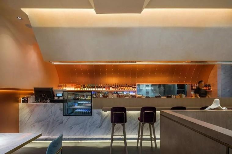 埂上设计丨取材生活,营造有仪式感的餐厅_65