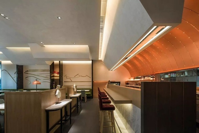 埂上设计丨取材生活,营造有仪式感的餐厅_66