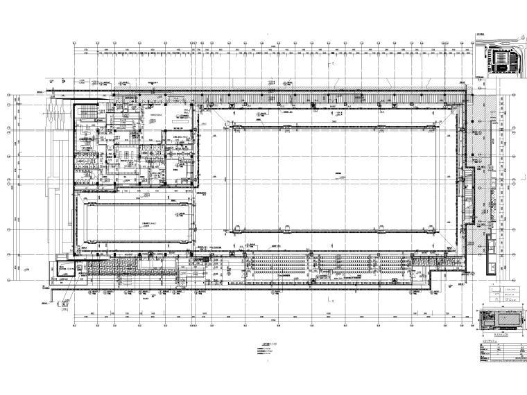 游泳训练区一层平面图