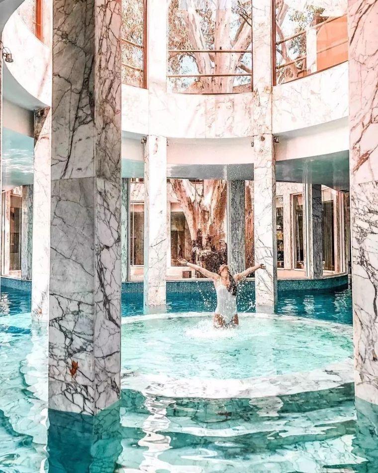 这设计才叫泳池,你那叫澡堂!_16