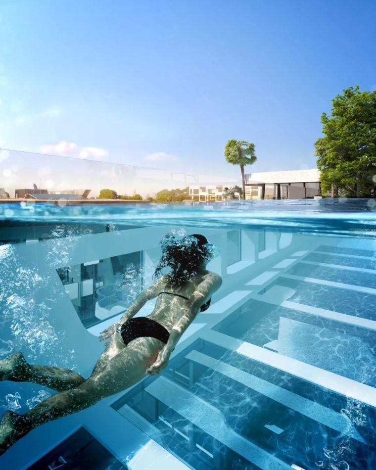 这设计才叫泳池,你那叫澡堂!_26