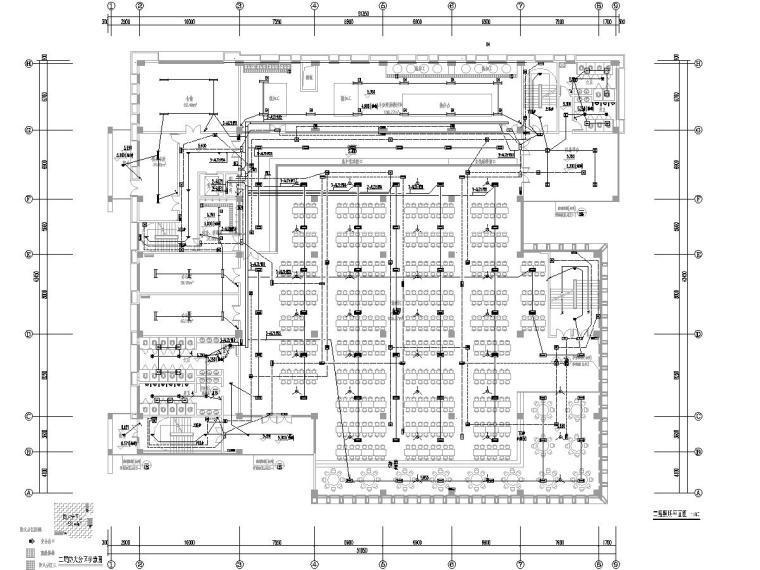 餐厅电气消防资料下载-[一键下载]8套餐厅/食堂电气施工图合集