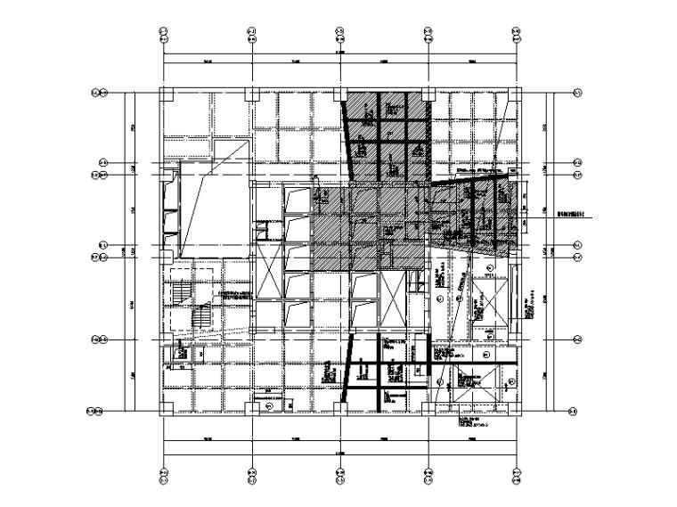 结构改造加固平法施工图