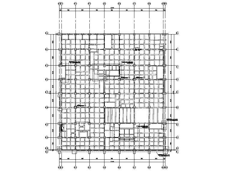 地下车库竖向构件加固改造图