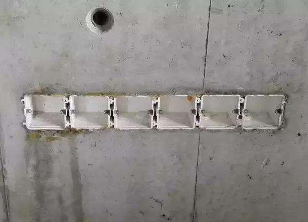 名企SSGF工业化体系水电精确定位标准做法