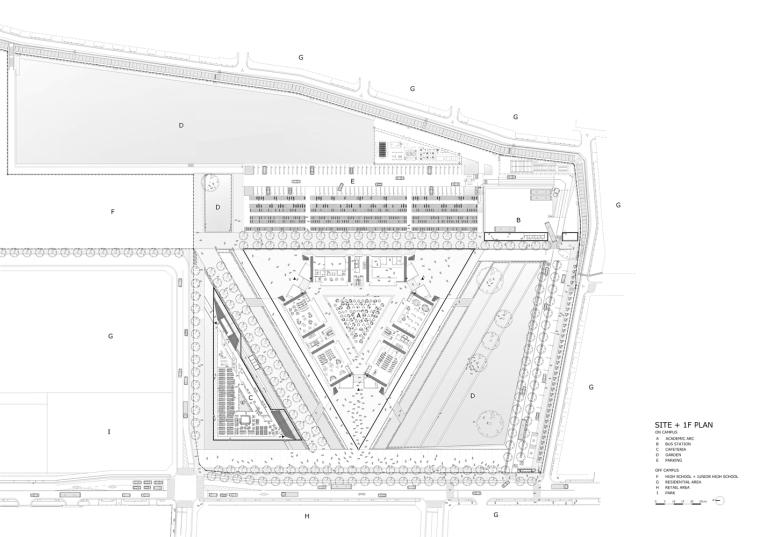 日本大手殿学院大学学术方舟-1_siteplan