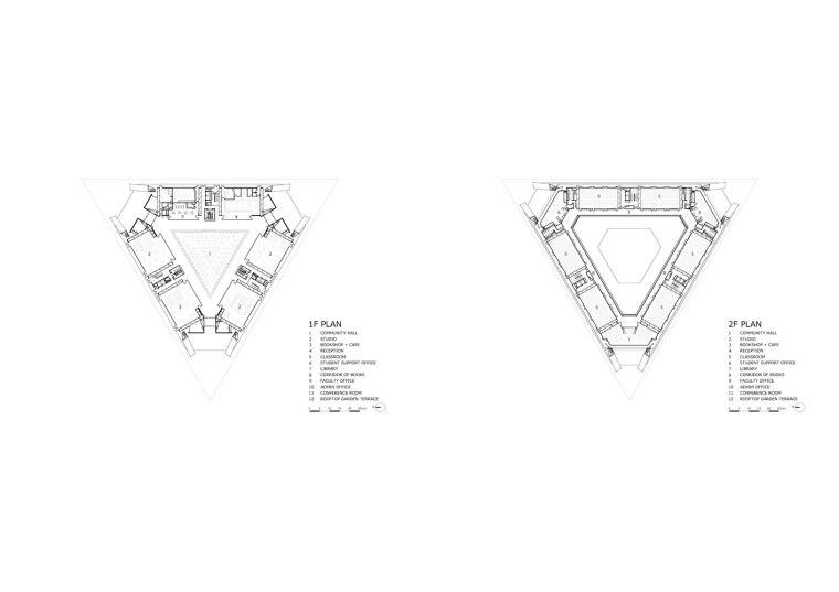 日本大手殿学院大学学术方舟-2_plan1-2F