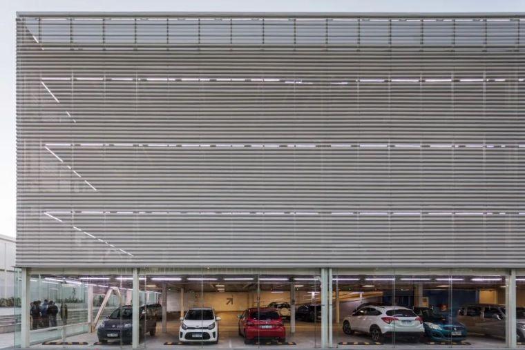 装配式钢结构—停车楼设计_2