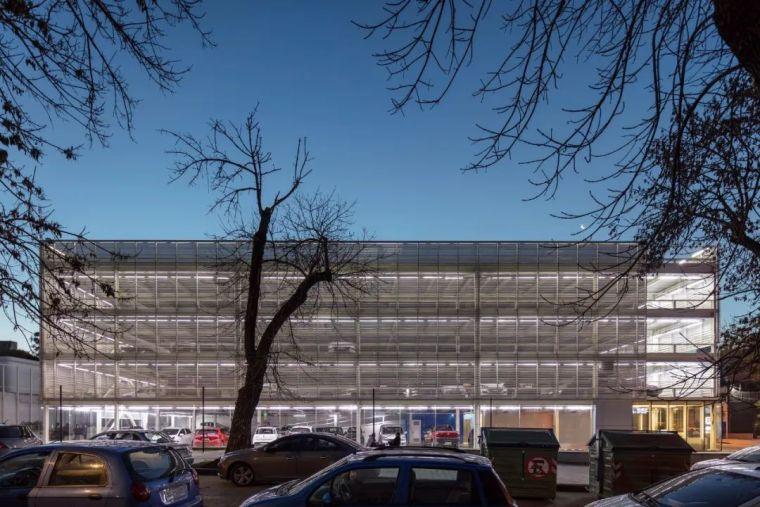 装配式钢结构—停车楼设计_1