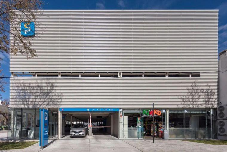 装配式钢结构—停车楼设计_5